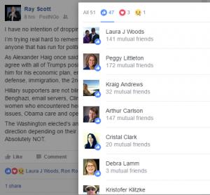 Woods likes Ray Scott post