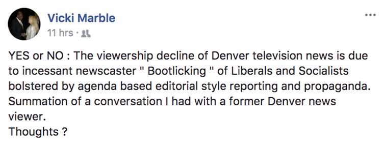 State Sen Vicki Marble Claims Media Quot Panders To Its